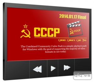 CCCP (Combined Community Codec Pack) 2014-01-17 Final / 2014-02-14 Beta