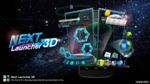Next Launcher 3D - 3.07 + Themes
