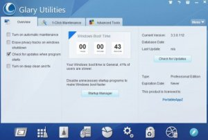 Glary Utilities Pro 4.7.0.96 Portable