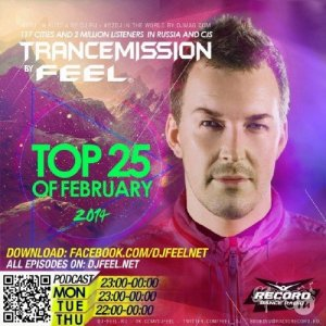 DJ FEEL - TOP 25 OF FEBRUARY 2014
