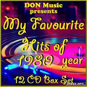 My Favourite Hits of 1980 [12CD] (2014) MP3