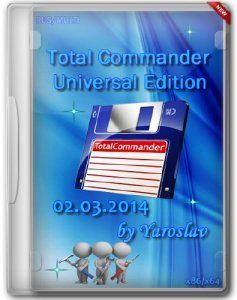 Total Commander Universal Edition 02.03.2014 by Yaroslav (RUS/MULTI/2014)