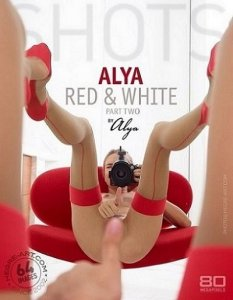 Hegre-Art  : Alya - Red & white part two