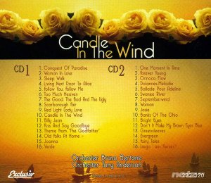 Orchester Bruno Bertone & Tony Anderson  - Romantic Instrumentals / Candle In The Wind (2CD) 1998/2014