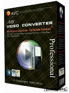 Any Video Converter Professional 5.5.7
