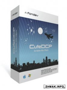 FanDev CuteDCP 1.6.0 / 1.2.1 for After Effects / Premiere Pro (Win64)