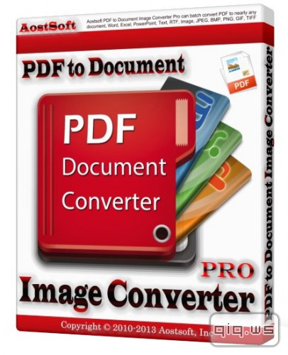 Aostsoft PDF to Document Image Converter Professional 3.9.2 Final. Новости