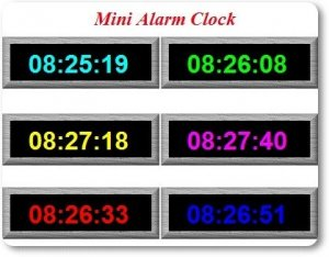 Mini Alarm Clock 1.01 Rus Portable