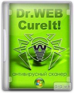 Dr . Web   CureIt ! 9.1.1.08010 (DC 08.09.2014) Portable [Multi/RUS]