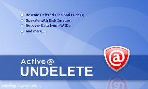 Active Undelete 9.7.9.0