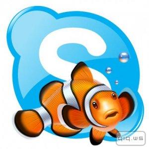 Clownfish for Skype 3.60 + Portable (2014/Multi/Rus)