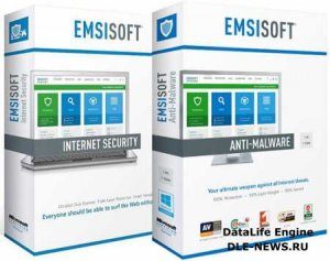 Emsisoft Anti-Malware / Internet Security 9.0.0.4985 Final (Ml|Rus)