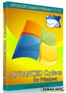 ADVANCED Codecs for Windows 7 / 8 / 10 5.12