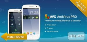 AVG AntiVirus PRO Android Security v4.4.2 + Tablet [Rus/Android]