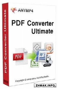 AnyMP4 PDF Converter Ultimate 3.2.6 + Русификатор