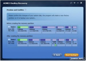 AOMEI OneKey Recovery 1.5
