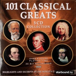 101 Classical Greats 5CD (2001)