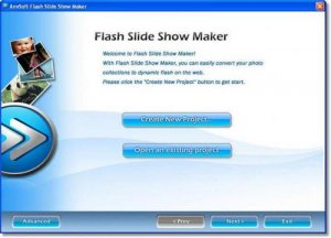 Flash Slideshow Creator 4.5.3.0 (Eng) + Шаблоны