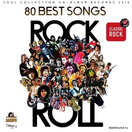 Rock And Roll: 80 Best Songs (2018)