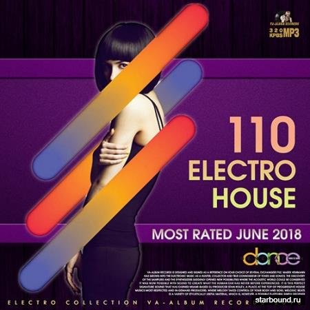 110 Electro House: Most Rated June (2018)