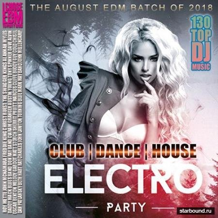 Electro Party: Top 130 DJ (2018)