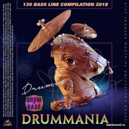 Drummania: 130 Bass Line Compilation (2018)
