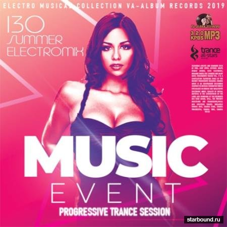 Music Event: Progressive Trance Session (2019)