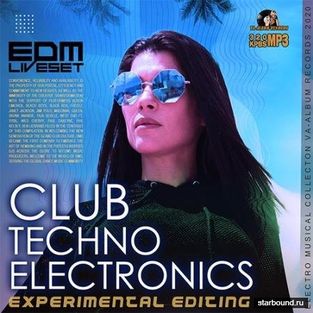 Club Techno Electronics: EDM Liveset (2020)